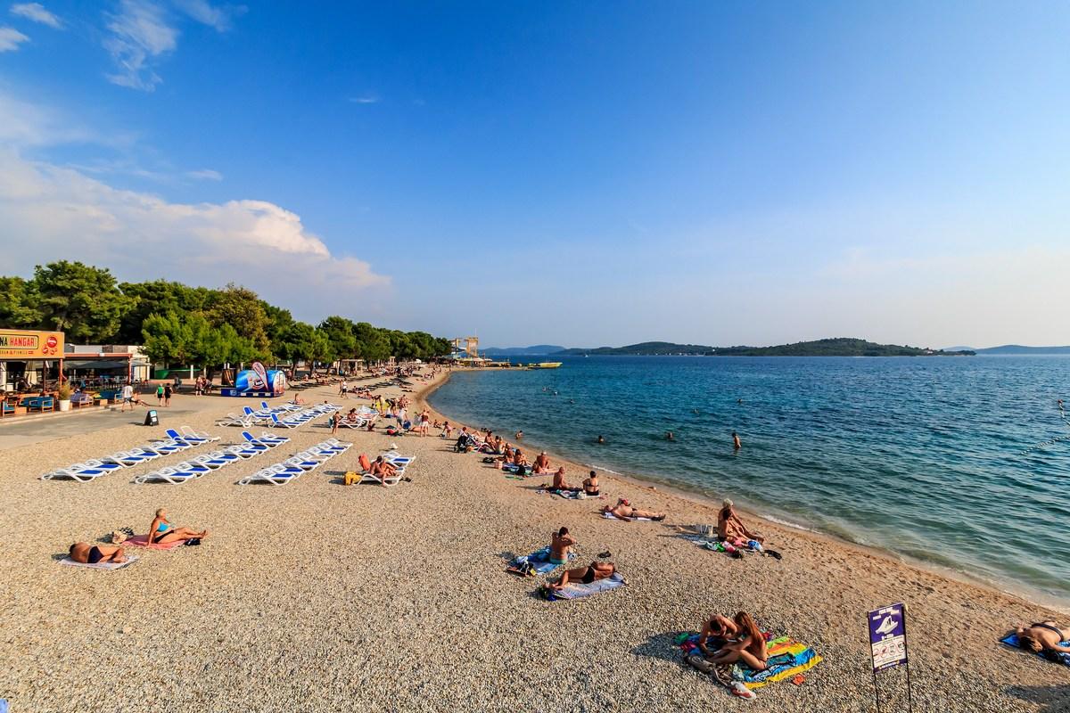 Vodice, plaža Olympia, foto Andrija Carli