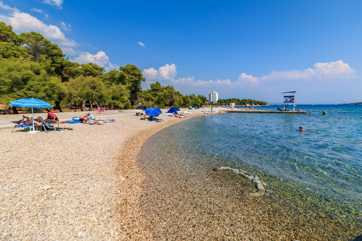 Vodice, plaža, foto Andrija Carli