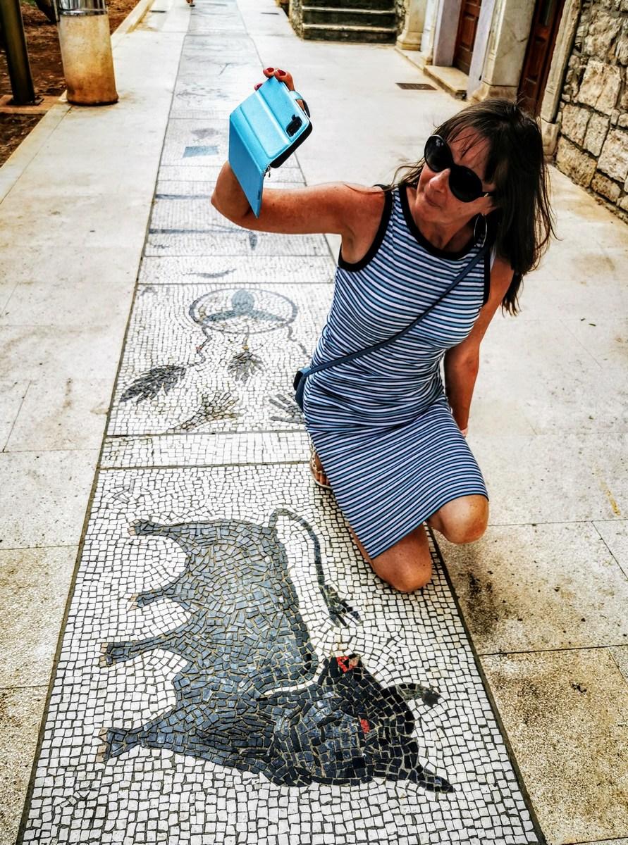 Fotografiranje ob mozaikih