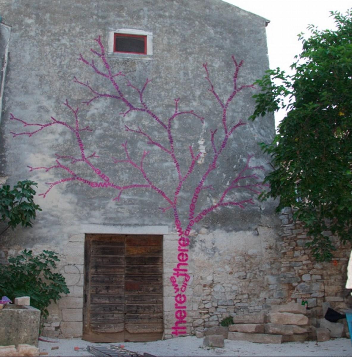 Opiemme-Tree-of-words-Tribute-to-Ungaretti-Vodnjan-Sobe-Festival-Croatia-2012-3