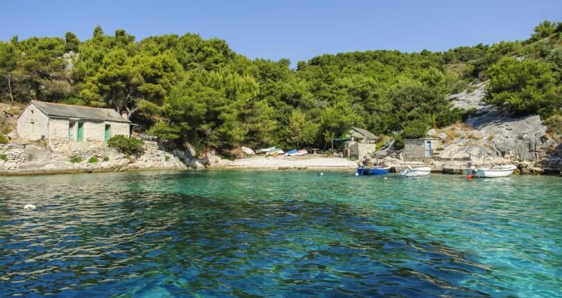 Otok Šolta, košček dalmatinskega raja