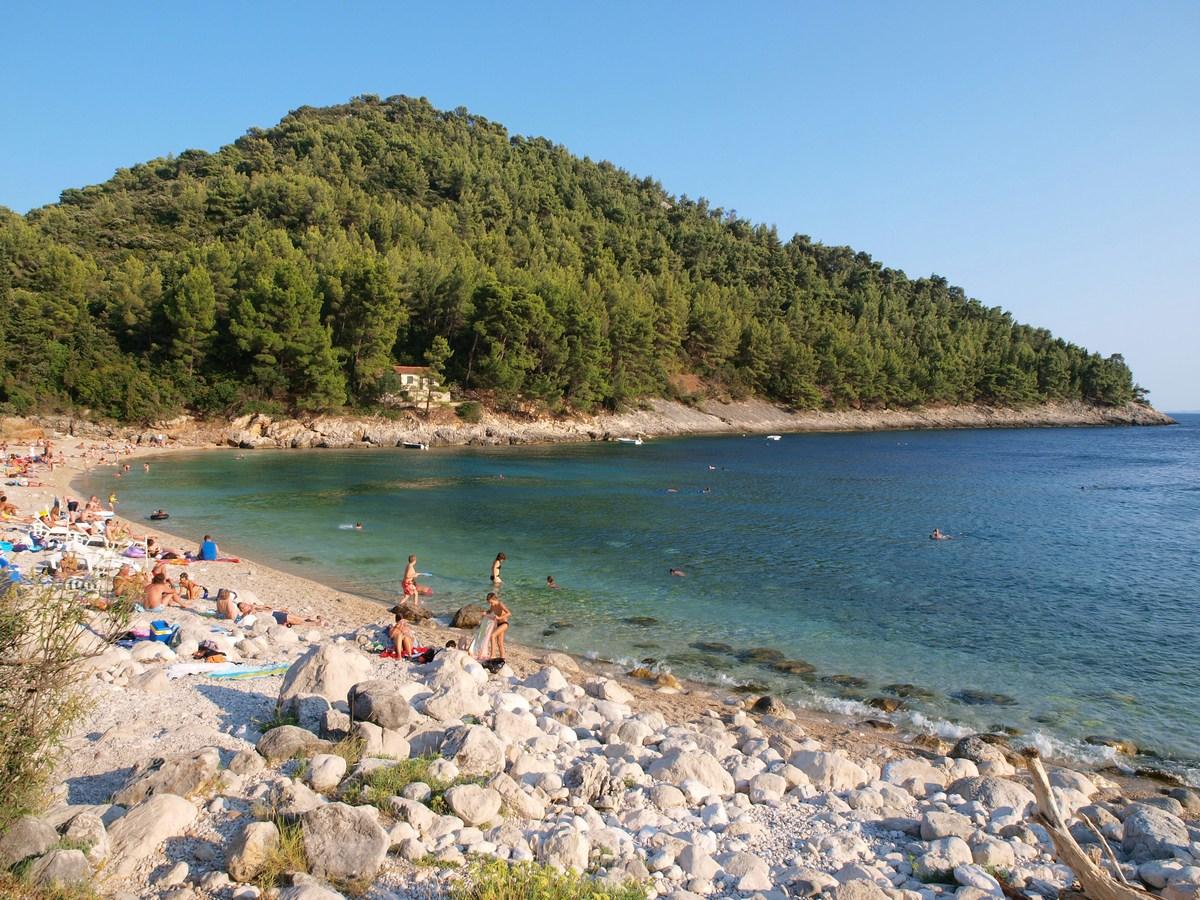 Pupnatska luka, plaža, foto Neven Fazinić in TZ Korčule